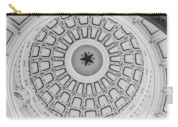 Texas State Capitol Dome Carry-all Pouch