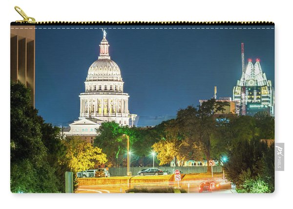 Texas State Capitol University Of Texas Carry-all Pouch