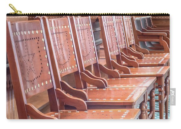 Texas Statehouse Chairs Carry-all Pouch