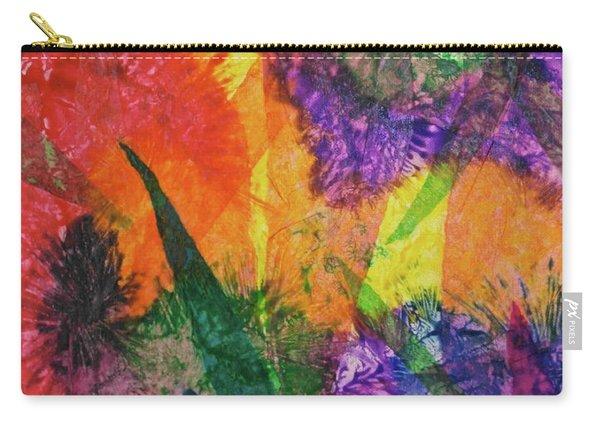 Texture Garden Carry-all Pouch