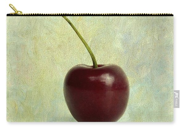 Textured Cherry. Carry-all Pouch