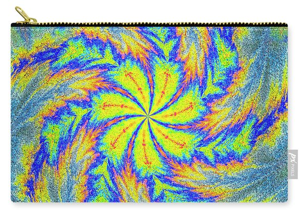 Textured Colors Carry-all Pouch