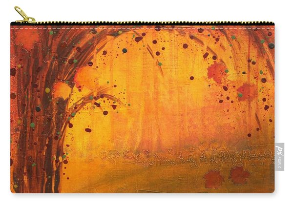 Textured Fall - Tree Series Carry-all Pouch