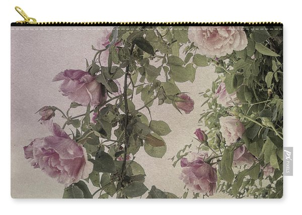 Textured Roses Carry-all Pouch