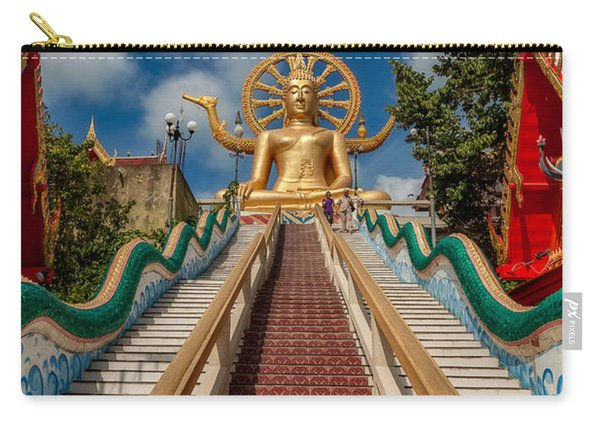 Thai Big Buddha Carry-all Pouch