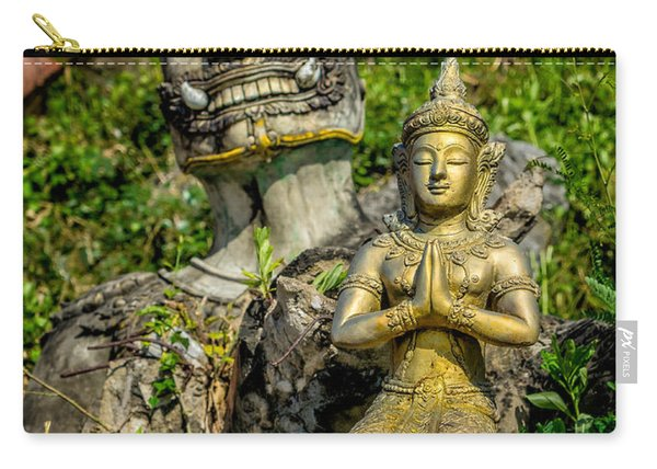 Thai Statues Carry-all Pouch