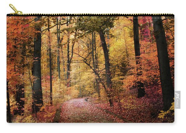 Thain Forest Foliage Carry-all Pouch