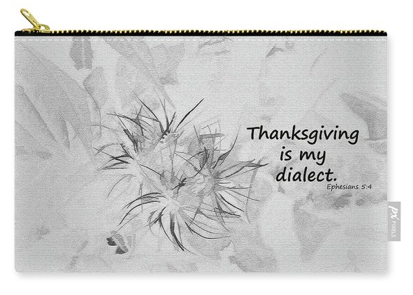 Thanks Giving Carry-all Pouch