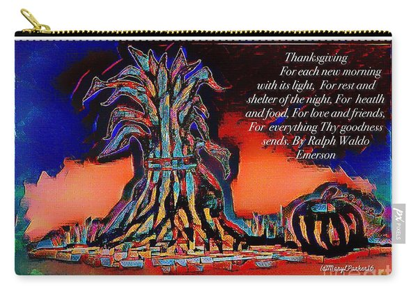 Thanksgivingblessing Carry-all Pouch