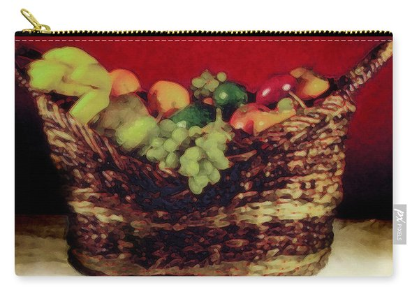 That Basket Of Fruits Painting Carry-all Pouch