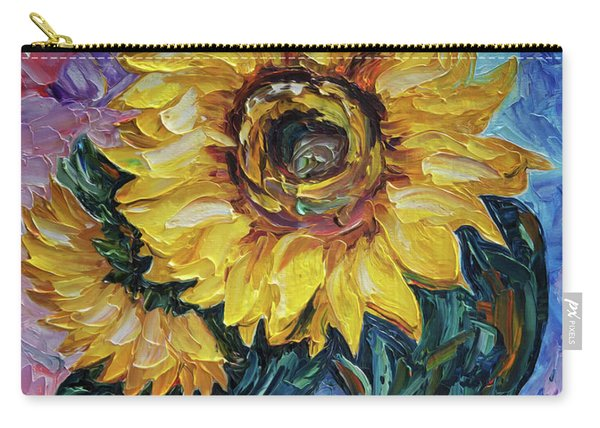 That Sunflower From The Sunflower State Carry-all Pouch