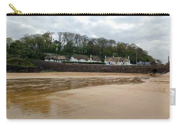 Thatched Cottages In Dunmore East Ireland  Carry-all Pouch