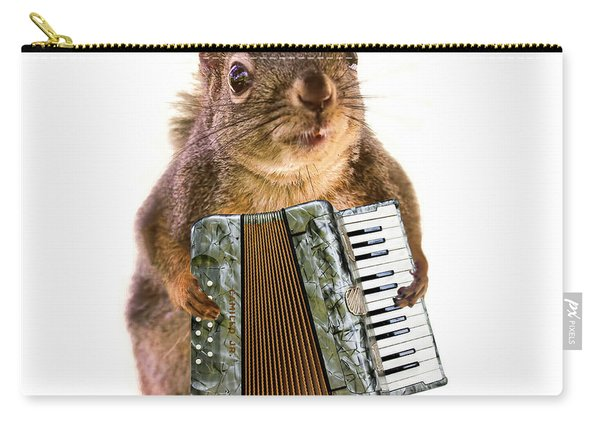 The Accordion Player Carry-all Pouch