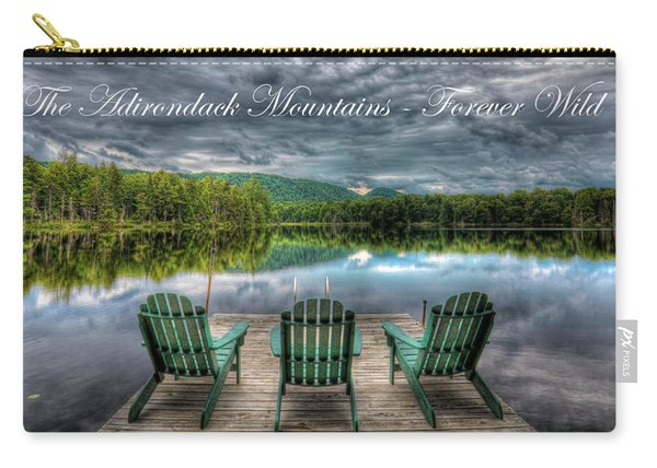 The Adirondack Mountains - Forever Wild Carry-all Pouch