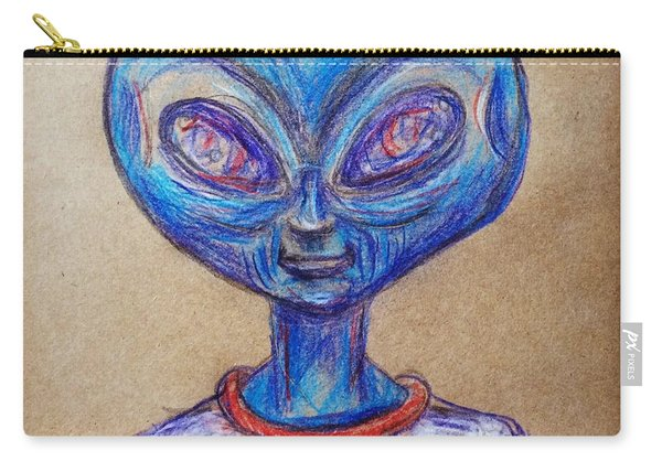 The Alien Is L-i-v-i-n Carry-all Pouch