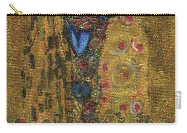 The Alien Kiss By Blastoff Klimt Carry-all Pouch