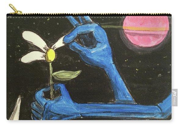 The Alien Loves Me... The Alien Loves Me Not Carry-all Pouch