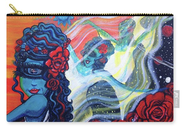 The Alien Scarlet Begonias Carry-all Pouch