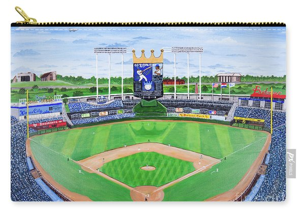 The Amazing Game At The K Carry-all Pouch