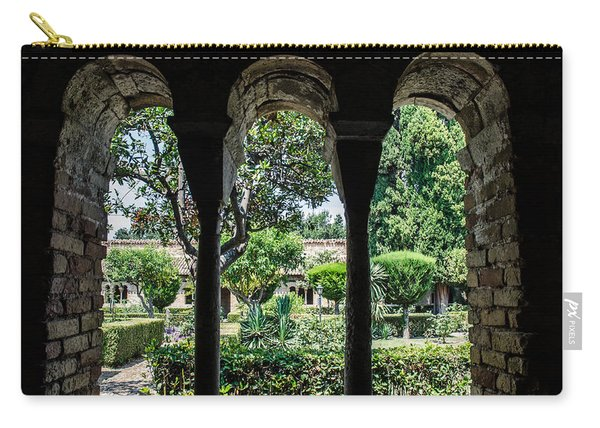 The Ancient Cloister Carry-all Pouch
