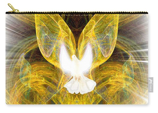 The Angel Of Forgiveness Carry-all Pouch