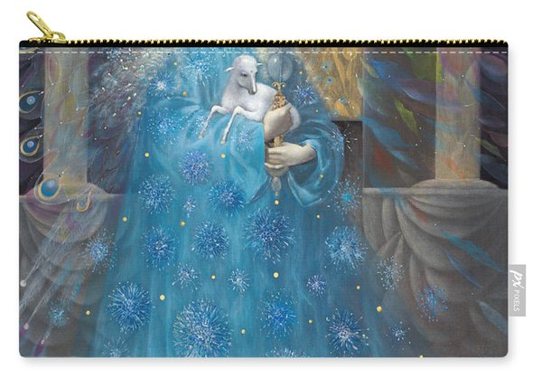 The Angel Of Truth Carry-all Pouch