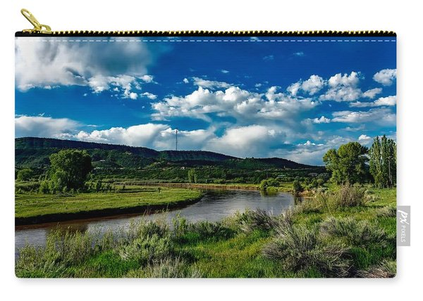 The Animas River In Colorado Carry-all Pouch