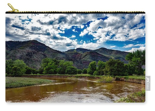 The Animas River Carry-all Pouch