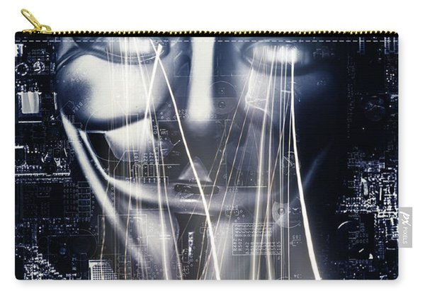 The Anonymous Eyes Of Civil Unrest Carry-all Pouch