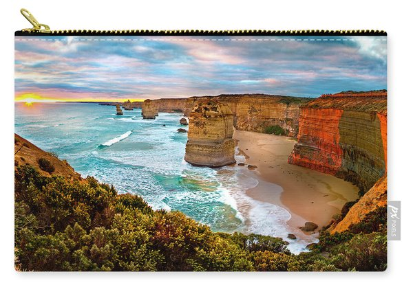 The Apostles Sunset Carry-all Pouch