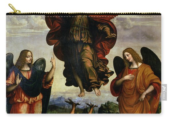 The Archangels Triumphing Over Lucifer Carry-all Pouch