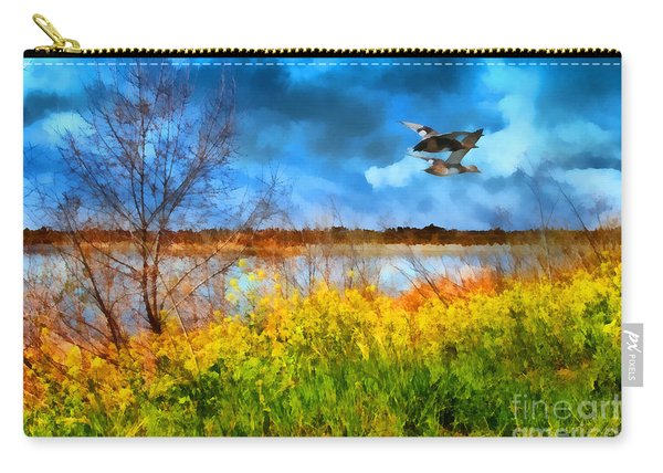 The Arrival Of Spring . 7d12643 Carry-all Pouch