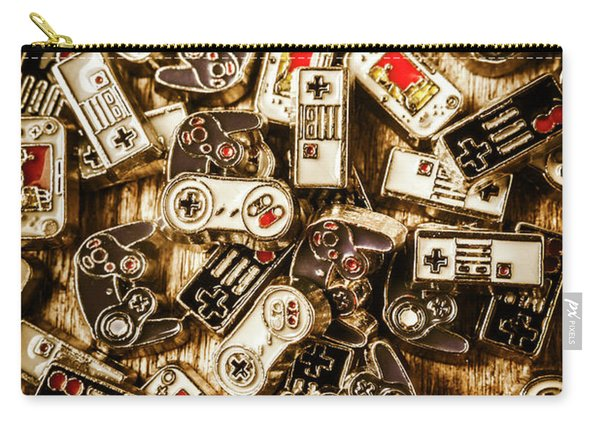 The Art Of Antique Games Carry-all Pouch