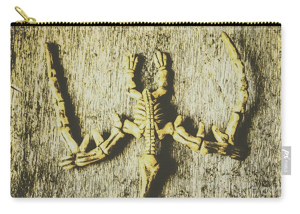 The Art Of Dinosaur Birds Carry-all Pouch