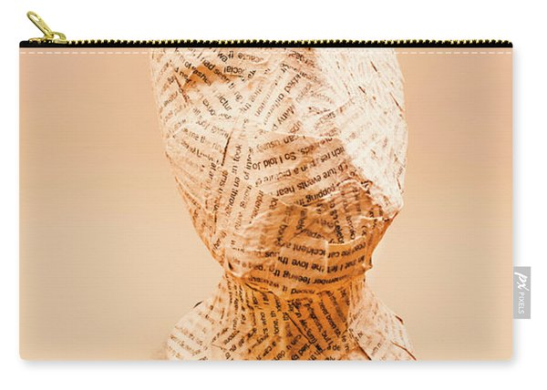The Art Of Hidden Meanings Carry-all Pouch