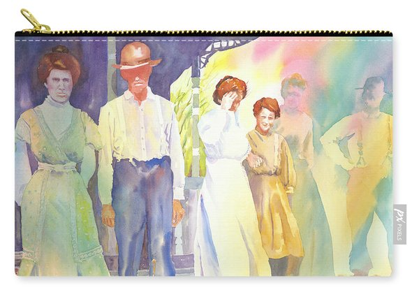 The Aunts Come Calling Carry-all Pouch