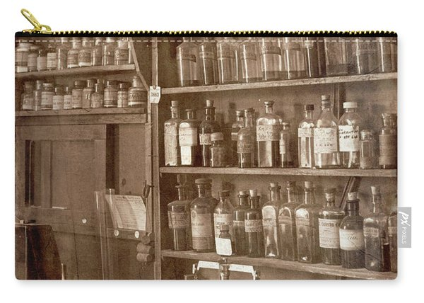 The Back Room In Sepia Carry-all Pouch