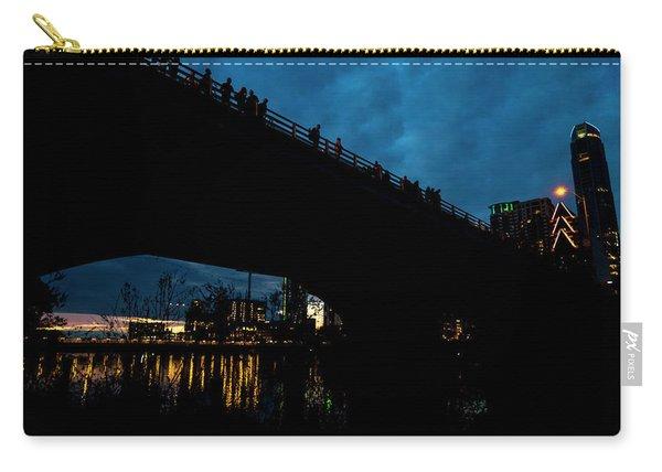 The Bat Bridge Austin Texas Carry-all Pouch