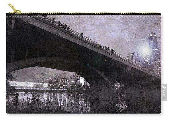 The Bat Bridge Night Austin Texas Carry-all Pouch