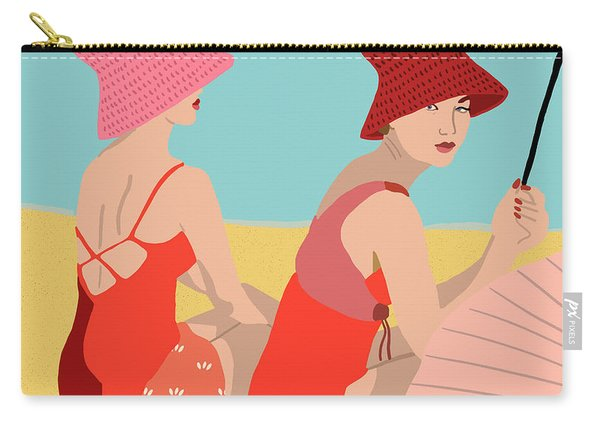 The Bathers Carry-all Pouch