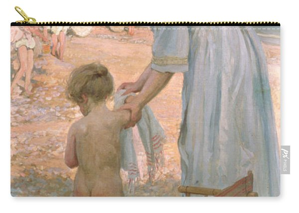 The Bathing Hour  Carry-all Pouch