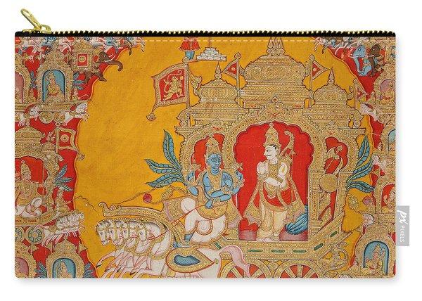 The Battle Of Kurukshetra Carry-all Pouch