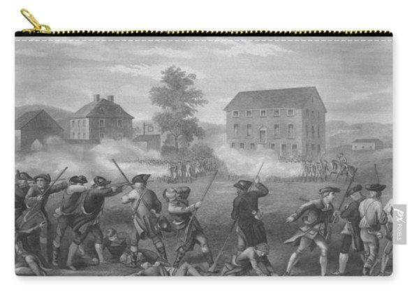 The Battle Of Lexington Carry-all Pouch