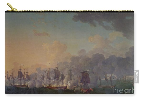 The Battle Of Louisbourg On The 21st July 1781 Carry-all Pouch