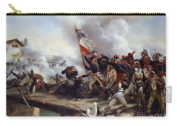 The Battle Of Pont D'arcole Carry-all Pouch