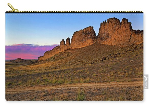 The Battlements Of Shiprock - New Mexico - Landscape Carry-all Pouch