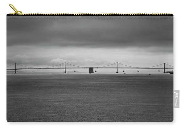 The Bay Bridge B/w Carry-all Pouch
