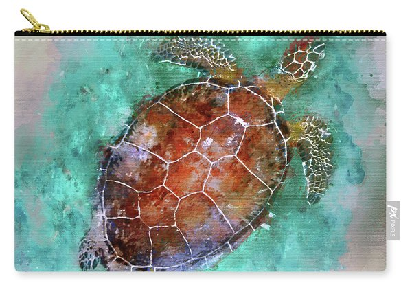 The Beautiful Sea Turtle Carry-all Pouch