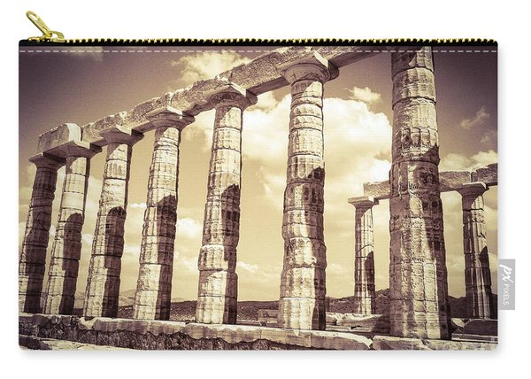 The Beauty Of The Temple Of Poseidon Carry-all Pouch