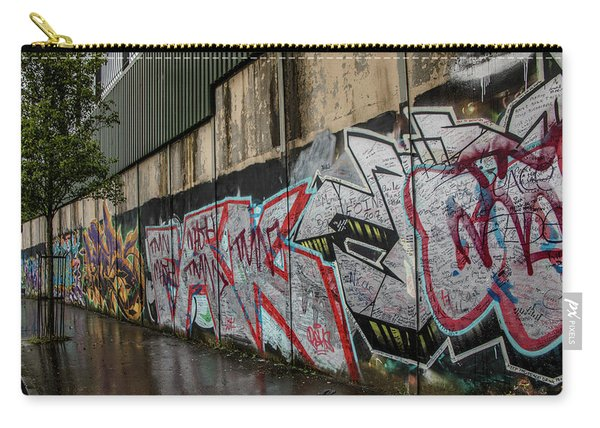 The Belfast Peace Wall Carry-all Pouch